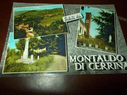 B795  Montaldo Di Cerrina Alessandria Viaggiata - Otras Ciudades