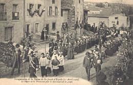 H2709 - Inauguration De La Statue De ST JOSEPH D'ESPALY - Le Départ De La Procession Pour Le Sanctuaire De St Joseph - Andere Gemeenten