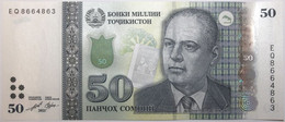 Tadjikistan - 50 Somoni - 2021 - PICK 26d - NEUF - Tajikistan