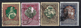 ⭐ Russie - YT N° 93 à 96 - Oblitéré - 1914 ⭐ - Usados