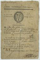 Révolution Française. Garde Nationale Parisienne. Convocation D'un Garde De L'Ile Saint-Louis. 1792. - Dokumente