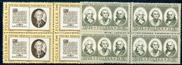 POLAND 1973 Bicentenary Of Education Commission Blocks Of 4 MNH / ** Michel 2279-80 - Unused Stamps