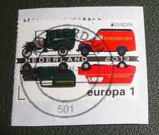 Nederland - NVPH - 305x - 2013 - Gebruikt Onafgeweekt - Cancelled On Paper - Europa 1 - Postauto's Oud - Used Stamps