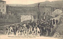 H2709 - Inauguration De La Statue De ST JOSEPH D'ESPALY - La Fin De La Procession - Passage De Mgr L'Evêque Du Puy - Le Puy En Velay