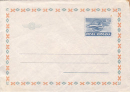 98828- PLANES, TRANSPORT, COVER STATIONERY, 1971, ROMANIA - Airplanes