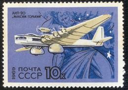 Noyta - CCCP - C1/39 - MNH - 1969 - Michel 3704 - Civiele Luchtvaart - Airplanes