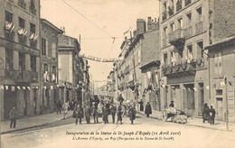 H2709 - Inauguration De La Statue De ST JOSEPH D'ESPALY - L'Avenue D'Espaly - Le Puy En Velay