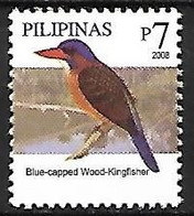 Philippines - MNH ** 2007 -     Hombron's Kingfisher   - Actenoides Hombroni - Andere