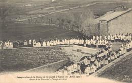 H2709 - Inauguration De La Statue De ST JOSEPH D'ESPALY - Retour De La Procession Passage Du Clergé - Le Puy En Velay