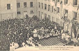 H2709 - Inauguration De La Statue De ST JOSEPH D'ESPALY - Panégyrique De St Joseph Prononcé Par M. L'abbé Morand - Le Puy En Velay