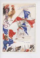 """1789-1989 Bicentenaire Révolution """"la Patrie En Danger"""" COQ Création Michel Villard Membre Sabretache (cp Vierge N°89/02 - Storia"""