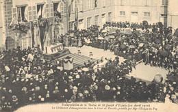 H2709 - Inauguration De La Statue De ST JOSEPH D'ESPALY - La Cérémonie D'Inauguration Dans La Cour De Paradis - Le Puy En Velay