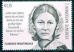 ONU Vienne 2020 - Florence Nightingale ** (couleur Rose Voir Commentaires) - Ungebraucht