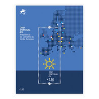 Portugal ** & European Union Portuguese Presidency 2021 (77765) - Hojas Bloque