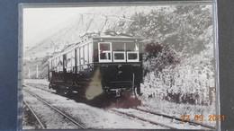 Photo Format  CP - Train St-Georges-de-Commiers / La Mure - Construit En 1927-1927 - Thomson-Houston - Trenes
