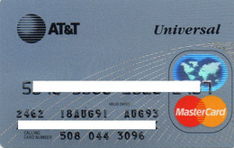 UNITED STATES - AT&T UNIVERSAL - BANK CREDIT CARD - MASTERCARD (AUG 91 AUG 93) - Other