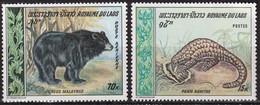 LAOS - Faune, Singe, Ours, Tigre - Tb Y&T N° 203-204 + PA 59-61 - MNH - Laos