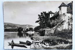 Carte Postale : 19 BEAULIEU (Corrèze) : Chapelle Des Pénitents, Maison De La Clarisse, Animé - Autres Communes