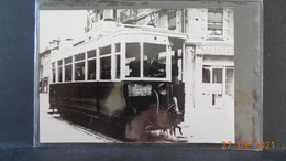 Photo Format CP - Grenoble - Tramway En 1948 - Lugares