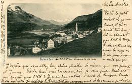 SAMADEN  -  CLICHE RARE - - GR Graubünden