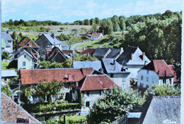 """Carte Postale Couleur : 19 SEGUR LE CHATEAU : Vue Partielle, """"CIM"""" - Autres Communes"""