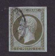 N°11 - 1c. Olive - 1853-1860 Napoléon III
