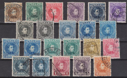 1901 ALFONSO XIII Serie Completa Usados De Lujo - Usati