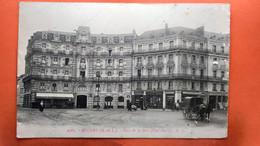 CPA. (49) Angers. Place De La Gare     (S.874) - Angers