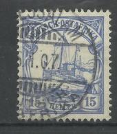 Deutsch-Ostafrika 25 A Gest. Daressalam, Geprüft Jäschke-Lantelme - Colony: German East Africa