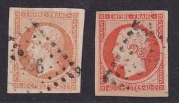 N°16 - 40c. Orange - 2 Teintes - 1853-1860 Napoléon III