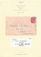 NEW ZEALAND WORLD WAR ONE ARMY P.O. EGYPT 1916 - Covers & Documents