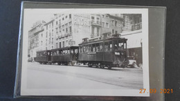 Photo Format 12,5 X 8,7 Cms - Tramway à Grenoble - Lugares