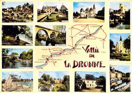 24 VALLEE DE LA DRONNE St Pardoux Parcoul Aubeterre Roche Chalais Eglisottes Aulaye Aigulin Bourdeilles Brantome Riberac - Other Municipalities
