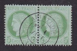 N°53 - 5c. Vert - 1871-1875 Cérès