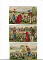 Carte Postale Ancienne Bébés Dans Les Choux à Vendre - Babies