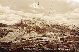 Cartolina - Funivia Faloria - Cortina - Tofane - 1961 - Belluno