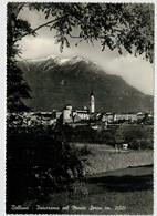 BELLUNO  PANORAMA   CON  IL  MONTE   SERVA  (M.  2132)              (NUOVA) - Belluno