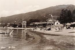 Cartolina - Suna - Il Lido - 1955 - Verbania