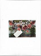 Carte Postale Ancienne Bébés Dans Des Fleurs - Babies