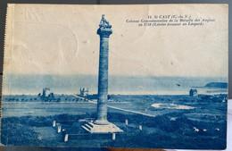 11 St CAST. Colonne Commémorative De La Bataille Des Anglais En 1758 (lévrier écrasant Un Léopard) - Saint-Cast-le-Guildo
