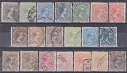 1889 ALFONSO XIII LOTE USADOS - Usati