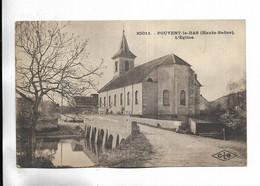 70 - FOUVENT-le-BAS ( Haute-Saône ) - L' Eglise - Other Municipalities