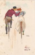 "Illustrateur ""Art Nouveau""  Raphël Kirchner -  ALL : HEIL . III - Kirchner, Raphael"