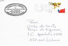 TIMBRES - STAMPS - FRANCOBOLLI - LETTRE - LETTER - PORTUGAL - EURO 2004 - DRAPEAU REPUBLIQUE TCÈQUE - Championnat D'Europe (UEFA)