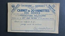 France Carnet Franchise Militaire Neuf ** Complet Voir Scans - Neufs
