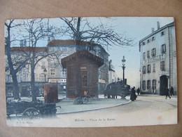 Cpa MACON Place De La Barre Tramway  Saône Et Loire 71 - Macon