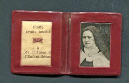 """Reliquaire """"Relique - Etoffe Ayant Touché à Sainte Thérèse De L'Enfant Jésus"""" - Religion & Esotericism"""