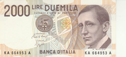 BANCONOTA ITALIA LIRE 2000 MARCONI UNC (VS451 - 2000 Lire
