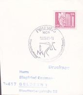 DDR 1981, Landschaftstag Königs Wusterhausen Und Zossen, Stamped With A Bird - Postkarten - Gebraucht