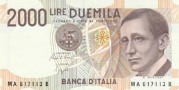 BANCONOTA ITALIA 2000 MARCONI UNC (VS844 - 2000 Lire